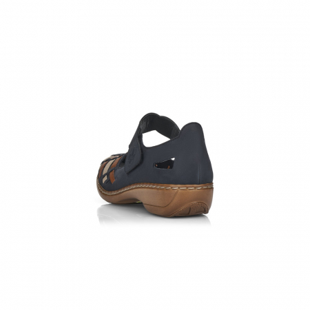 Pantofi de piele naturala Rieker 41369-14 [3]