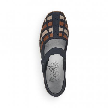Pantofi de piele naturala Rieker 41369-14 [4]