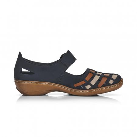 Pantofi de piele naturala Rieker 41369-14 [2]