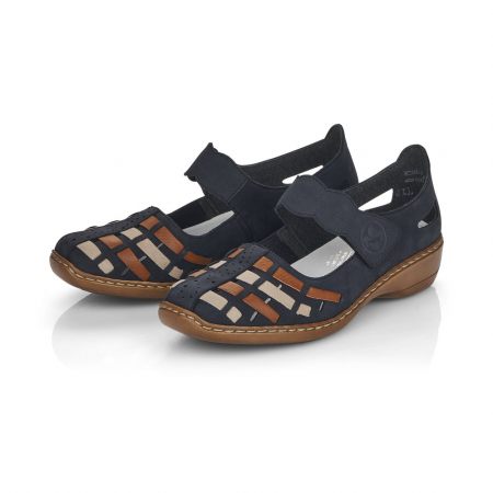Pantofi de piele naturala Rieker 41369-14 [1]