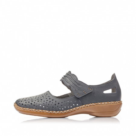 Pantofi de piele naturala Rieker 41399-14 [6]