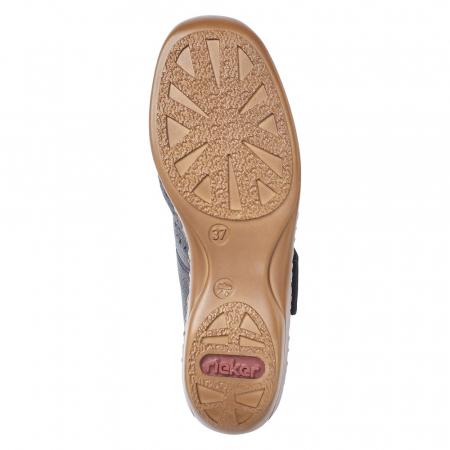 Pantofi de piele naturala Rieker 41399-14 [7]