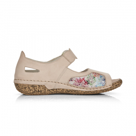 Pantofi de piele naturala decupati Rieker V7299-60 [1]