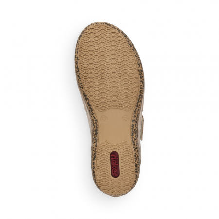 Pantofi de piele naturala decupati Rieker V7299-60 [7]