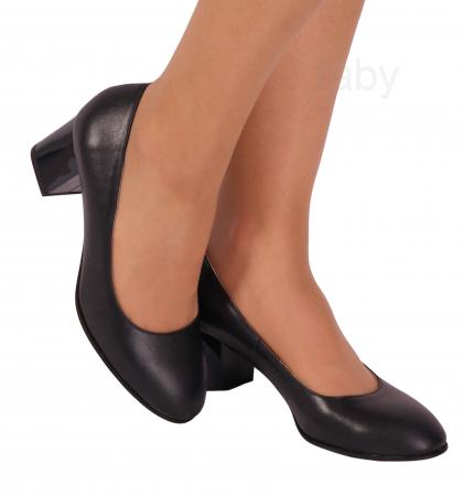 Pantofi din piele naturala 817 Negru [0]