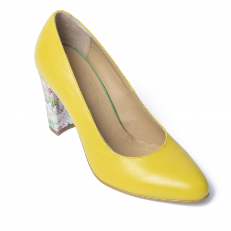 Pantofi din piele naturala TT Millano [2]