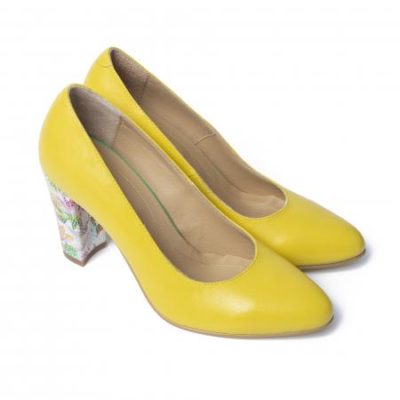 Pantofi din piele naturala TT Millano [0]