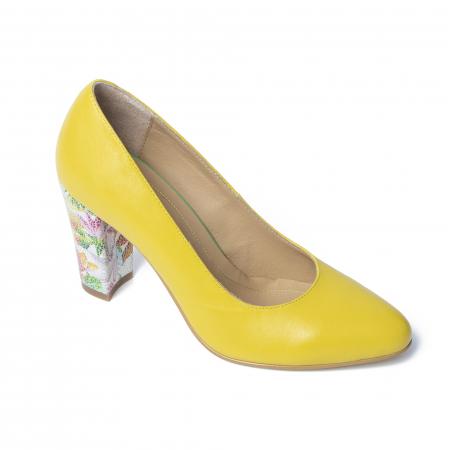 Pantofi din piele naturala TT Millano [1]