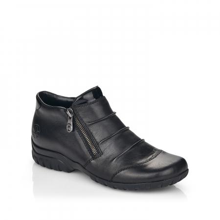 Pantofi din piele naturala Rieker L4671-00 [0]