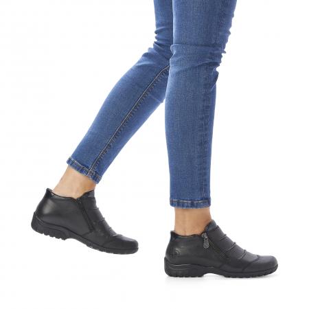 Pantofi din piele naturala Rieker L4671-00 [9]