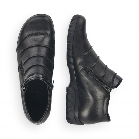 Pantofi din piele naturala Rieker L4671-00 [8]
