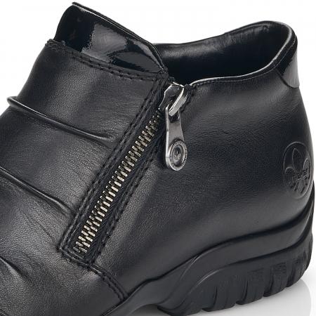 Pantofi din piele naturala Rieker L4671-00 [10]