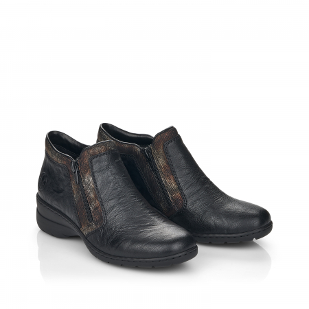 Pantofi din piele naturala Rieker L4382-00 [7]