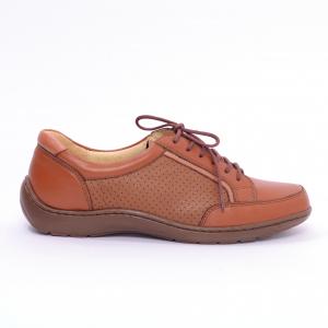 Pantofi piele Medline Confort 446 Maro1
