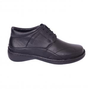 Pantofi piele Medline Confort 477 Negru2