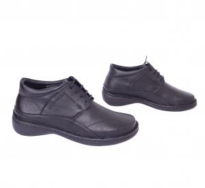 Pantofi piele Medline Confort 477 Negru0