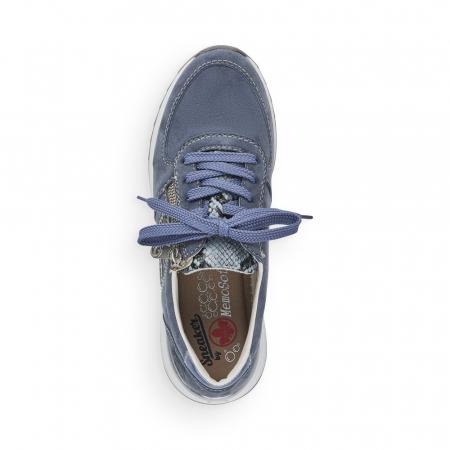Pantofi sport din piele naturala Rieker N8024-105