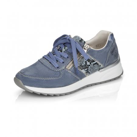 Pantofi sport din piele naturala Rieker N8024-104