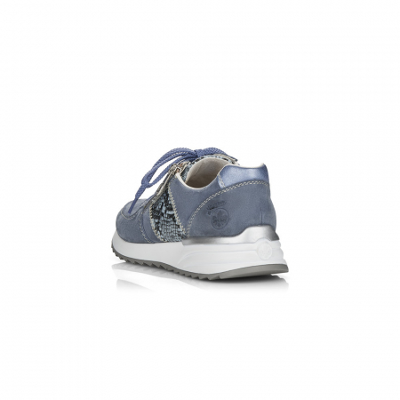 Pantofi sport din piele naturala Rieker N8024-103
