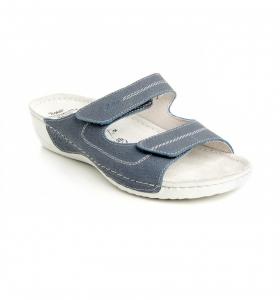 Papuci confortabili Batz Olivia EX1K5 Albastru0