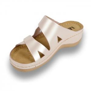 Papuci confortabili dama Leon 906 Perla [1]