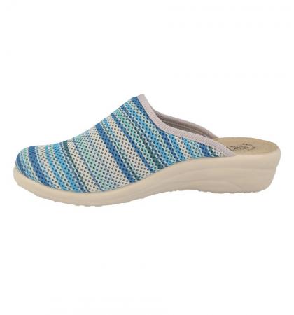 Papuci confortabili Fly Flot 069 albastru [3]