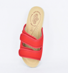 Papuci confortabili Fly Flot 120  Rosu2