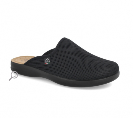 Papuci confortabili Fly Flot 125 negru [1]