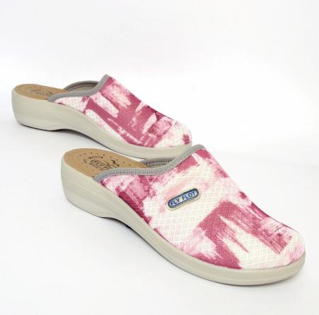 Papuci confortabili Fly Flot 154 roz [1]