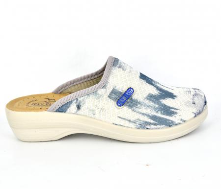 Papuci confortabili Fly Flot 154 albastru0