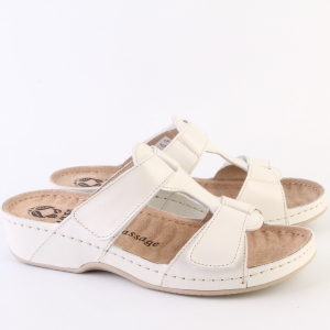 Papuci cu talpa ortopedica 242 Beige4