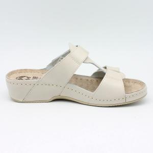 Papuci cu talpa ortopedica 242 Beige1