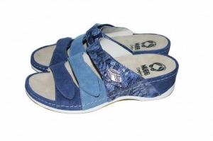 Papuci cu talpa ortopedica 701-18 Albastru2