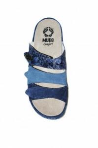 Papuci cu talpa ortopedica 701-18 Albastru5