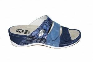 Papuci cu talpa ortopedica 701-18 Albastru0