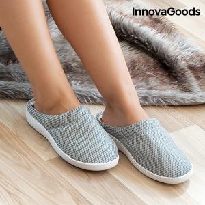 Papuci de Casă cu Gel Confort Bamboo1