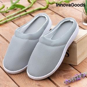 Papuci de Casă cu Gel Confort Bamboo0