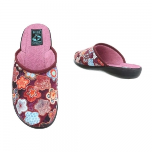 Papuci de casa 22347-dunkelrot1