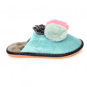 Papuci de casa Turcoaz [0]