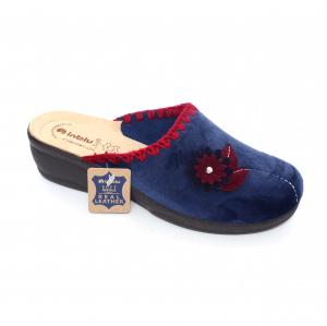Papuci de casa Dama BJ110 Blue0