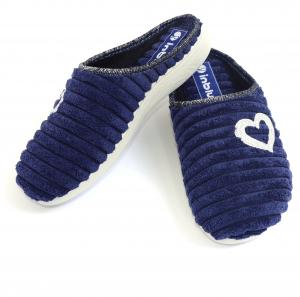 Papuci de casa Dama EC67 Blue1