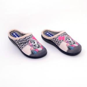 Papuci de casa Dama EC49 Grigio2