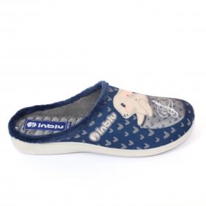 Papuci de casa Dama EC60 Blue [0]