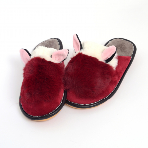 Papuci de casa Bordo1