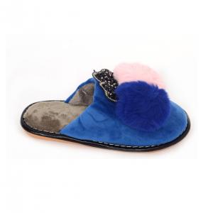 Papuci de casa Albastru0