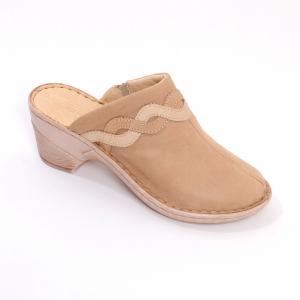 Papuci din piele naturala 2021