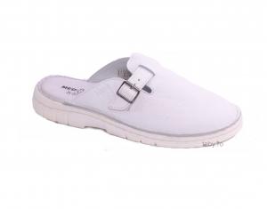 Papuci medicali barbati Medline 342 Alb1