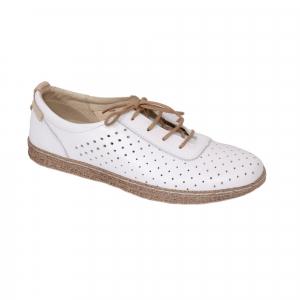 Pantofi casual dama 459 Alb0