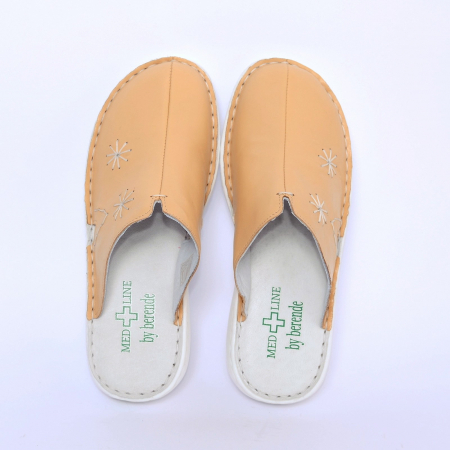 Saboti confort dama, Medline, 298  Bej1