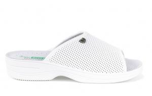 Papuci confortabili EcoBio 201129 Alb1